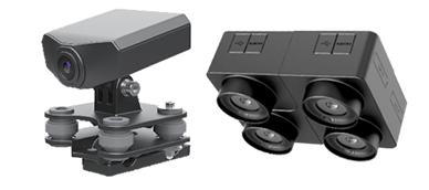 電子ジンバルカメラ 4眼高速連写カメラ